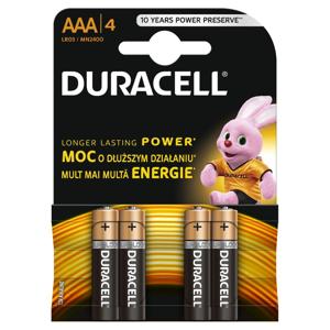 Duracell AAA K4 LR03/MN 2400 baterie 4 ks