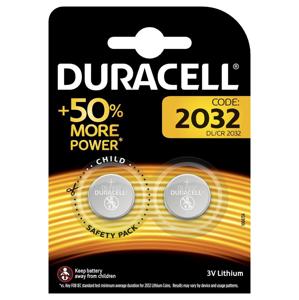 Duracell 2032 3V lithium baterie 2 ks