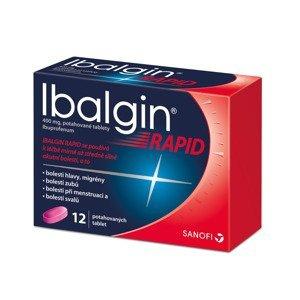 Ibalgin Rapid 400 mg 12 tablet