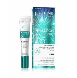 Eveline Hyaluron Clinic B5 protivráskový krém na oční víčka 20 ml