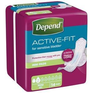 Depend Active-Fit Mini inkontinenční vložky 14 ks