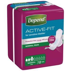 Depend Active-Fit Normal inkontinenční vložky 12 ks