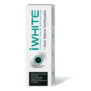 iWhite Dark Stains bělicí zubní pasta 75 ml