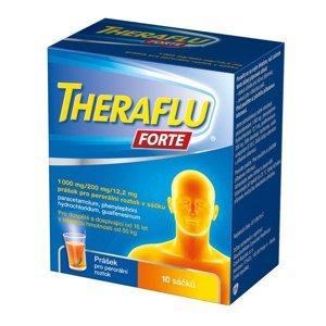 Theraflu Forte 1000 mg/200 mg/12,2 mg prášek pro perorální roztok 10 sáčků