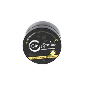 Glory smile Charcoal Lemon bělicí zubní pudr 30 g