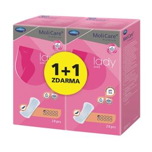 MoliCare Lady 0,5 kapky inkontinenční vložky 2x28 ks