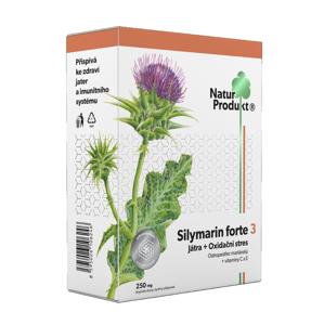 Naturprodukt Silymarin forte 3 Játra + Oxidační stres 40 tablet