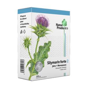 Naturprodukt Silymarin forte 2 Játra + Menopauza 40 tablet