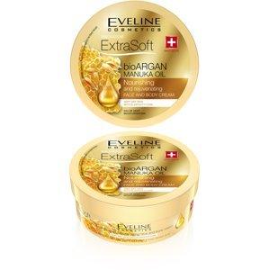 Eveline Extra Soft Argan&Manuka oil výživný omlazující krém 175 ml
