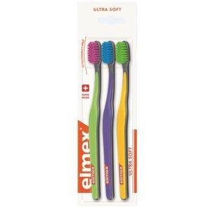 Elmex Ultra Soft zubní kartáček 3 ks
