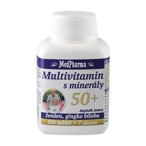 Medpharma Multivitamin s minerály 50+ 107 tablet