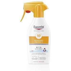 Eucerin SUN Sensitive Protect Kids SPF50+ dětský sprej na opalování 300 ml