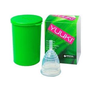 YUUKI Menstruační kalíšek Soft Small set 1 ks + dezinfekční krabička