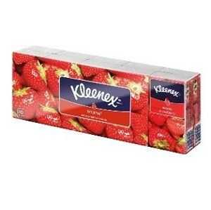 Kleenex Family hanks Strawberry 10x10 ks