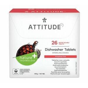 ATTITUDE Tablety do myčky bez fosfátů 26 tablet