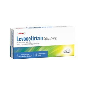 Dr.Max Levocetirizin 5 mg 10 tablet