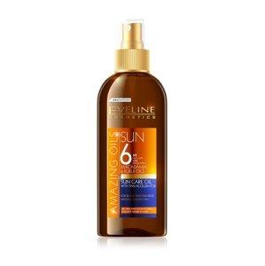 Eveline Amazing Oils SPF6 opalovací olej 150 ml