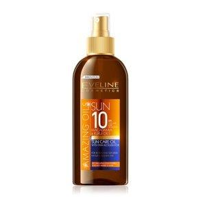 Eveline Amazing Oils SPF10 opalovací olej 150 ml