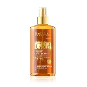 Eveline Summer Gold samoopalovací olej na tmavou pleť 150 ml