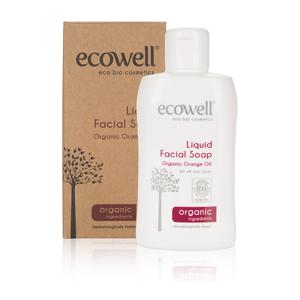 Ecowell Tekuté mýdlo na obličej BIO 150 ml