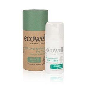 Ecowell Revitalizující oční krém BIO 15 ml