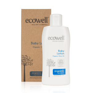 Ecowell Dětské tělové mléko BIO 200 ml
