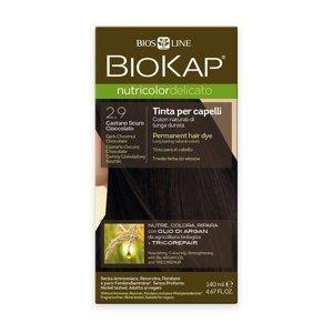 BIOKAP Nutricolor Delicato 2.9 Kaštanovo čokoládová tmavá barva na vlasy 140 ml