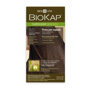 BIOKAP Nutricolor Delicato 5.0 Kaštanová přírodní světlá barva na vlasy 140 ml