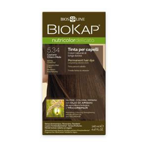 BIOKAP Nutricolor Delicato 5.34 Medová kaštanová barva na vlasy 140 ml