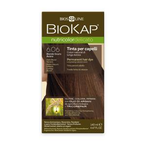 BIOKAP Nutricolor Delicato 6.06 Blond tmavá Havana barva na vlasy 140 ml