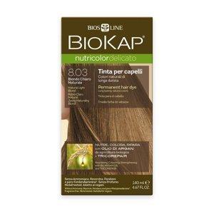 BIOKAP Nutricolor Delicato 8.03 Blond přírodní světlá barva na vlasy 140 ml