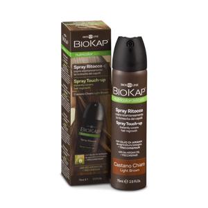 BIOKAP Spray Touch Up Hnědý tmavý krycí sprej 75 ml