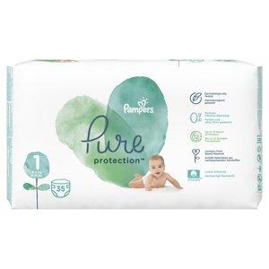 Pampers Pure Protection vel. 1 dětské plenky 35 ks