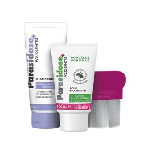 Parasidose Express 100 ml + šampon + hřeben akční balení 3v1