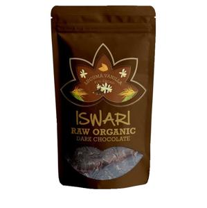 Iswari BIO RAW Čokoládové bonbóny lucuma vanilla 61% kakao 200 g