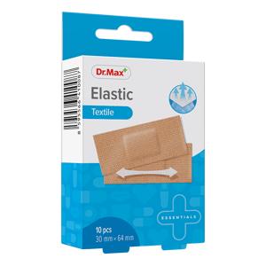 Dr.Max Elastic Textile 30mm x 64mm náplast 10 ks