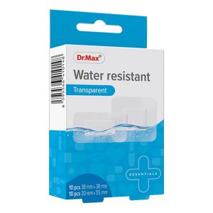 Dr.Max Water resistant Transparent 2 velikosti náplast 20 ks