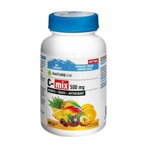 Swiss NatureVia C-MIX 500 mg 90 žvýkacích tablet
