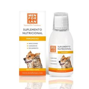 Menforsan Immunity Na imunitu tekutý doplněk stravy pro psy a kočky 120 ml