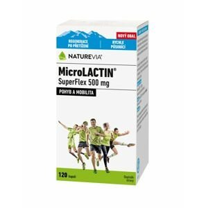 Swiss NatureVia MicroLACTIN SuperFlex 500 mg 120 kapslí
