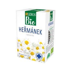 Leros BIO Heřmánek porcovaný čaj 20x1 g
