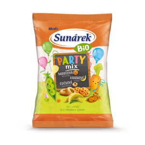 Sunárek Bio Party mix křupky 90 g