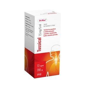 Dr.Max Tussical 7,5 mg/5 ml sirup 200 ml