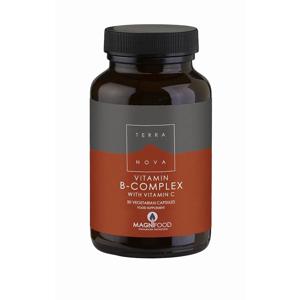 Terranova B-Complex s vitaminem C 50 kapslí