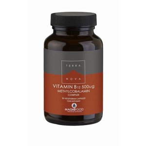 Terranova Vitamin B12 Complex 500 mcg 50 kapslí