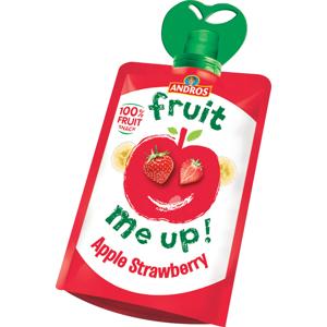 ANDROS Fruit Me Up 100% jablko-jahoda kapsička 90 g