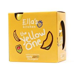 Ellas Kitchen BIO Ovocné pyré Yellow One Banán kapsička 5x90 g