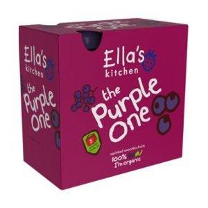 Ellas Kitchen BIO Ovocné pyré Purple One Borůvka kapsička 5x90 g