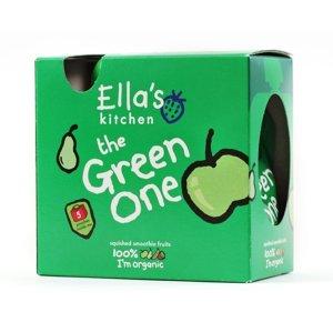 Ellas Kitchen BIO Ovocné pyré Green One Jablko 5x90 g