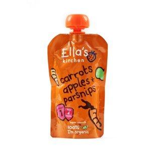 Ellas Kitchen BIO Zeleninové pyré mrkev, jablka a pastinák kapsička 120 g